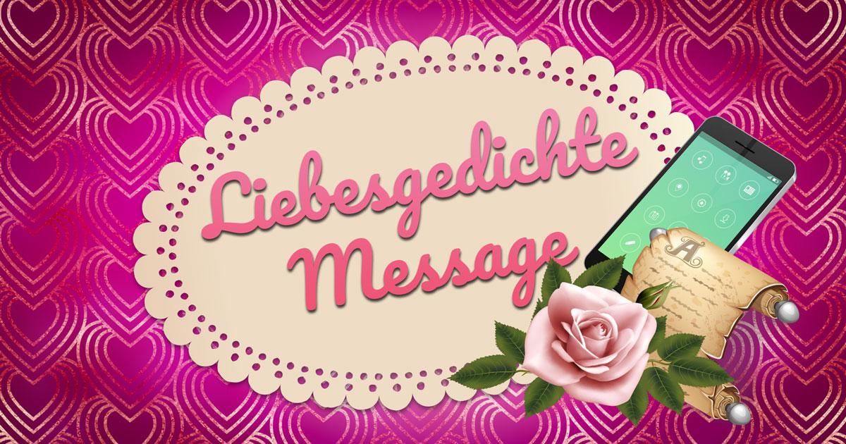 Gedichte liebesgedichte sms kurze 22 kurze